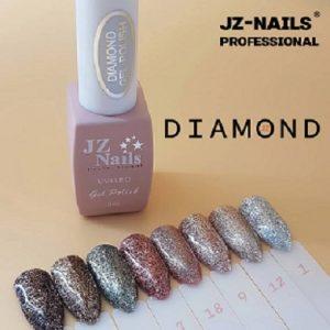жидкая фольга jz-nails professional